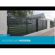 откатные ворота WISNIOWSKI MODERN