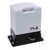 Автоматика для откатных ворот FAAC 741 SET