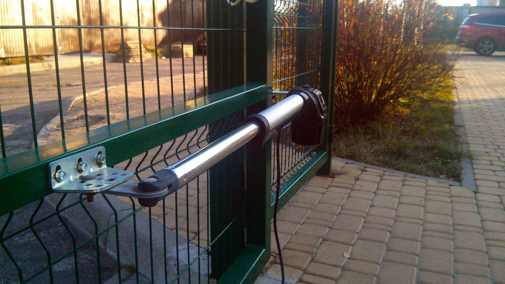 Купить распашную автоматика для ворот Гант